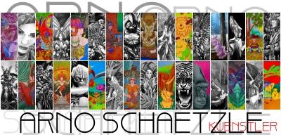 Gästebuch Banner - verlinkt mit http://www.arnoschaetzlekuenstler.de